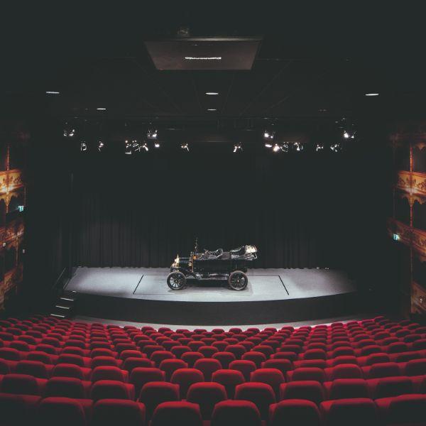 Louwman Museum het Italiaanse theater