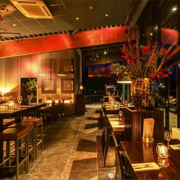 Villa Westend restaurant avond