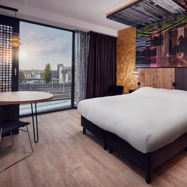 Inntel Utrecht Centre hotelkamer