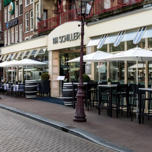 NH Amsterdam Schiller terras