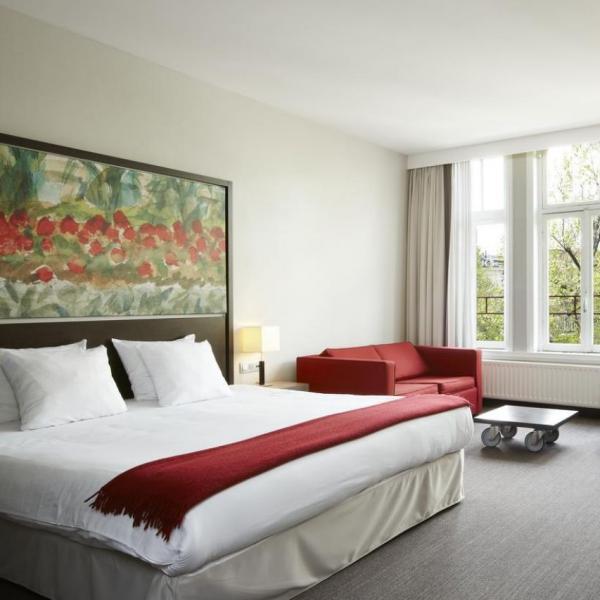 NH Amsterdam Schiller hotelkamer