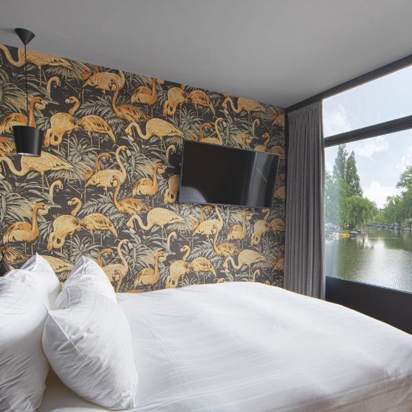 Apollo Hotel Amsterdam Hotelkamer Flamingo