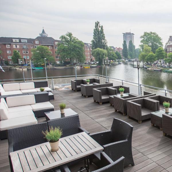 Apollo Hotel Amsterdam Terras Water