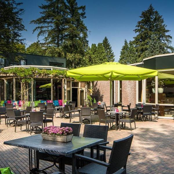 Fletcher Hotel-Restaurant Mooi Veluwe terras