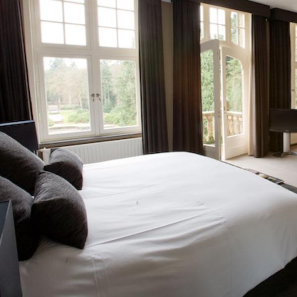 Kasteel De Hooge Vuursche hotelkamer