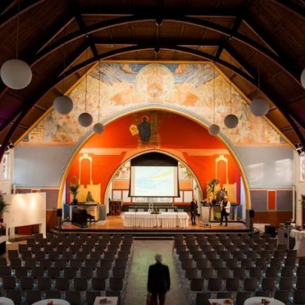 Kapel onder de Bogen theateropstelling